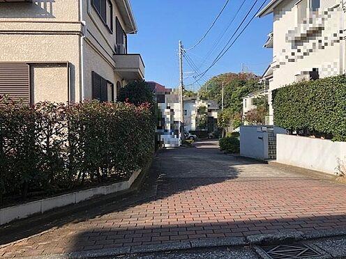 土地-横浜市港南区下永谷1丁目 東側私道風景