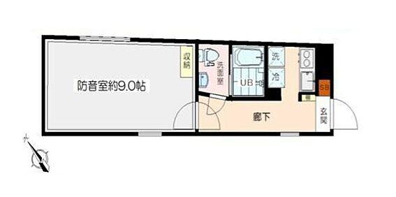 マンション(建物全部)-渋谷区本町3丁目 間取り