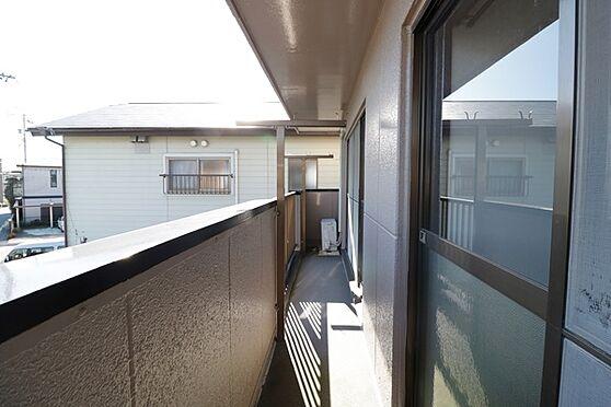 マンション(建物全部)-浜松市中区和合北4丁目 2階部分、バルコニー。竿掛け金具付き!