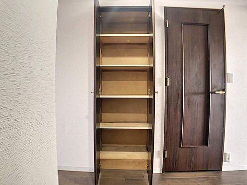 区分マンション-名古屋市西区鳥見町3丁目 収納スペースが多く、お部屋がスッキリと片付きます!