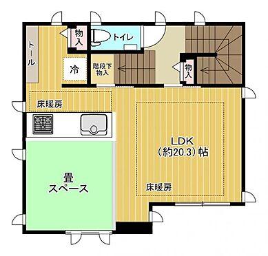 中古一戸建て-福岡市中央区平尾5丁目 2階間取り