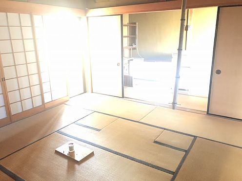 戸建賃貸-岡崎市井田町字茨坪 和室の多い間取りです。小さなお子さまにはフローリングよりもやわらかい畳の方が安心です