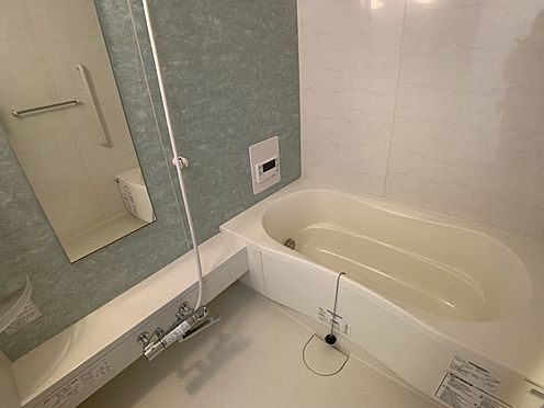 中古マンション-みよし市三好丘5丁目 リフォーム済みなので綺麗な状態でお使いいただけます!暖かいお風呂で癒されてくださいね。