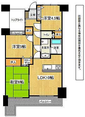 マンション(建物全部)-北九州市小倉南区北方2丁目 302号3DK(60.92m2)