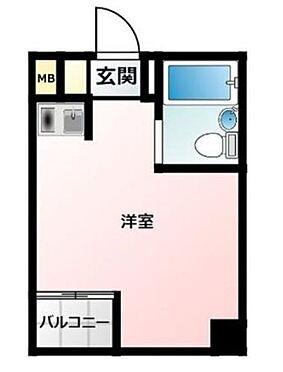 マンション(建物一部)-大阪市中央区安土町2丁目 間取り