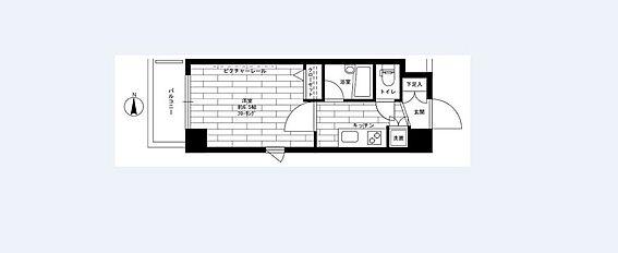 マンション(建物一部)-杉並区下井草5丁目 1Kタイプ