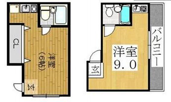 マンション(建物全部)-大阪市西成区津守2丁目 間取り