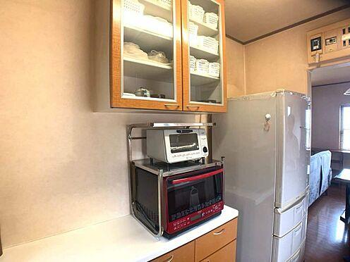 戸建賃貸-岡崎市天白町字吉原 収納棚が付いています。すっきりとしたキッチンを保てますね♪
