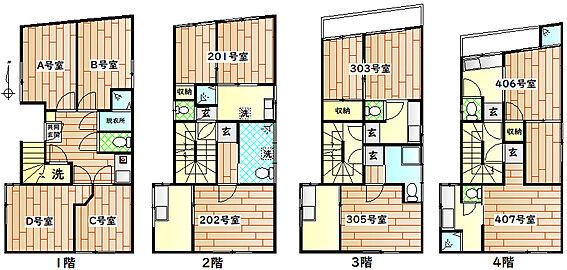 マンション(建物全部)-板橋区上板橋3丁目 間取り