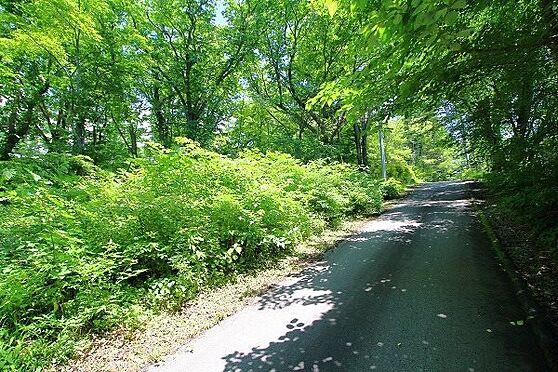 土地-北佐久郡軽井沢町大字長倉 標高は約1000m。夏は涼しく快適にお過ごしいただけます。