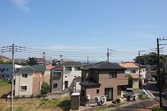 アパート-横須賀市長沢3丁目 空室からの眺望 「海」遠望