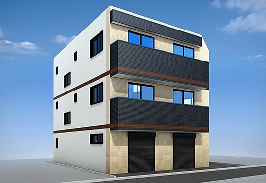 マンション(建物全部)-新宿区大久保2丁目 外観完成予定パース