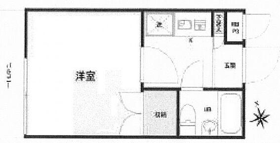 中古マンション-練馬区上石神井1丁目 間取り