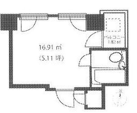 マンション(建物一部)-中央区日本橋本町1丁目 間取り