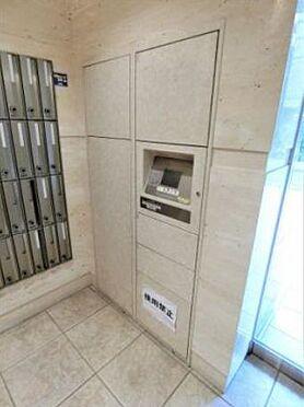 マンション(建物一部)-大阪市中央区松屋町住吉 一人暮らしでも安心の宅配ボックスあり