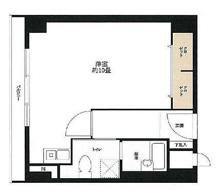 マンション(建物一部)-大阪市西区南堀江1丁目 広々とした1R