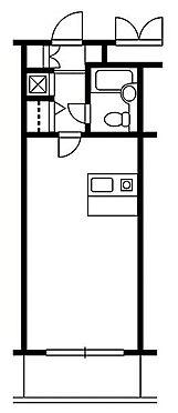 マンション(建物一部)-京都市上京区葭屋町通上長者町下る菊屋町 間取り