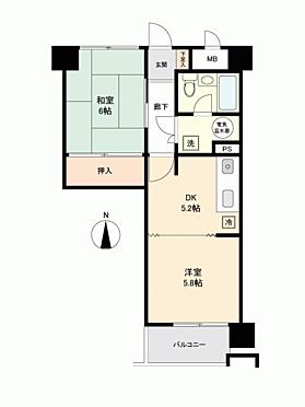 マンション(建物一部)-札幌市中央区南12丁目 間取り