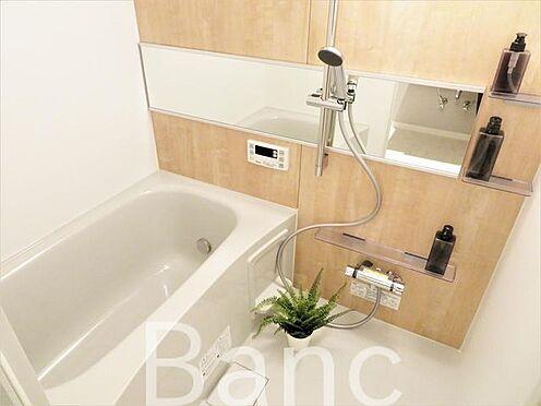 中古マンション-渋谷区元代々木町 追炊き浴室換気乾燥機能付きシステムユニットバス、花粉の時期や梅雨時は浴室乾燥機があると助かりますね