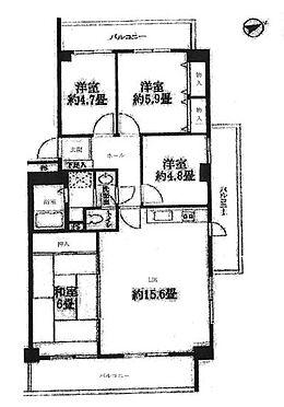 マンション(建物一部)-神戸市西区伊川谷町有瀬 三面バルコニーの健やかな物件