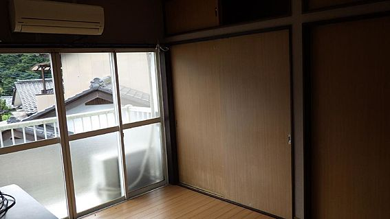 アパート-秩父市山田 寝室