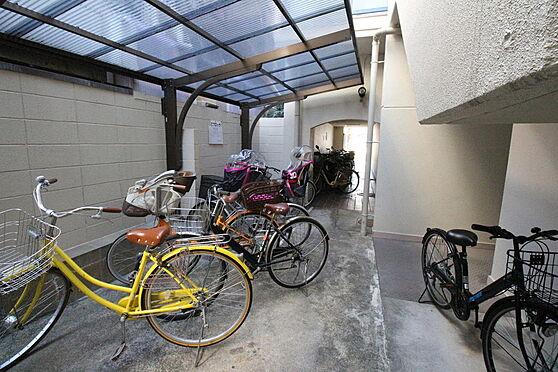 マンション(建物一部)-京都市中京区西ノ京勧学院町 屋根つきの駐輪場