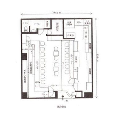 店舗(建物一部)-横浜市南区南太田1丁目 間取り