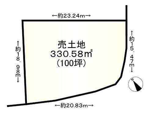 土地-神戸市垂水区塩屋台3丁目 区画図