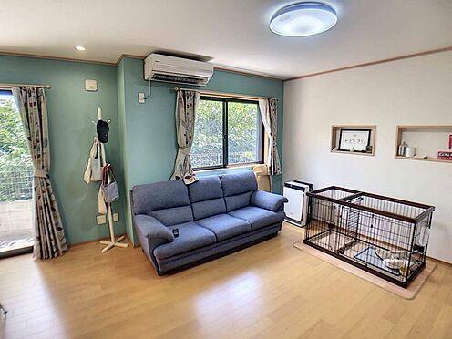 戸建賃貸-豊田市柿本町6丁目 明るく居心地の良いリビング空間には、自然と家族が集まります♪