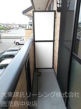アパート-熊本市西区田崎1丁目 バルコニー