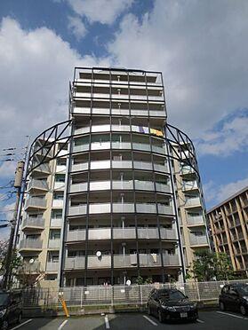 マンション(建物一部)-久留米市津福今町 裏側(南側)の外観。