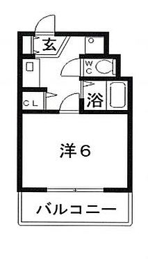 マンション(建物一部)-大阪市天王寺区四天王寺1丁目 間取り
