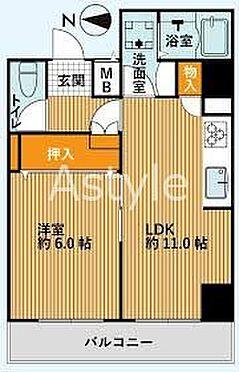 マンション(建物一部)-墨田区東駒形1丁目 間取り