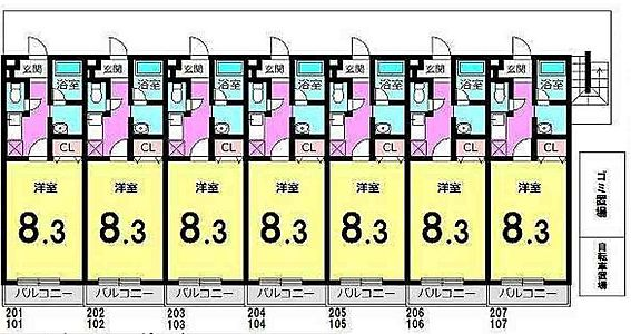 アパート-松戸市稔台8丁目 間取り