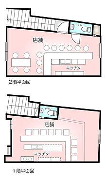 店舗(建物全部)-名古屋市北区川中町 間取り