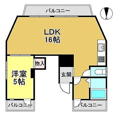 マンション(建物一部)-京都市北区大宮玄琢南町 間取り