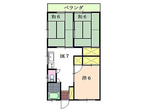 アパート-伊東市八幡野 3DKタイプ