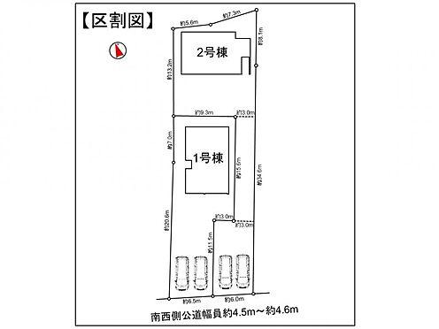 戸建賃貸-西尾市寺津町寺後 敷地広々!並列2台駐車可能です♪