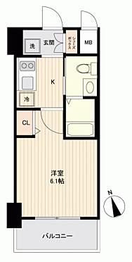 マンション(建物一部)-大阪市西区千代崎2丁目 間取り