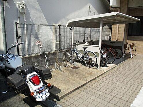 中古マンション-大阪市東成区東中本2丁目 バイク置き場・駐輪場です