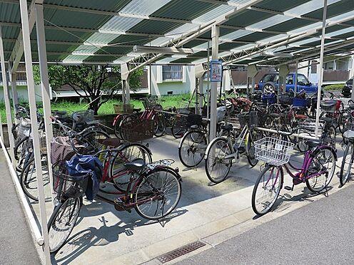 マンション(建物一部)-大阪市城東区永田3丁目 広々とした屋根付き駐輪場