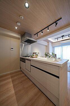 中古マンション-渋谷区神泉町 食洗機・浄水器一体型システムキッチン
