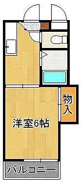 アパート-北九州市八幡東区祇園3丁目 間取りは現況を優先します。