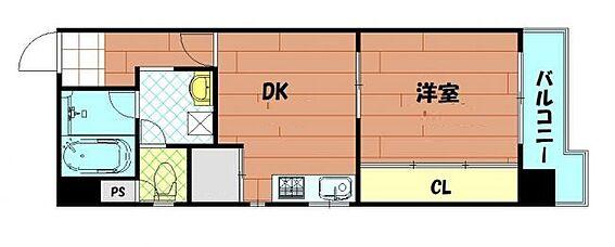 マンション(建物一部)-大阪市西区西本町2丁目 3点セパレートの1DK