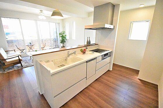 新築一戸建て-黒川郡大和町吉岡字道下一番 キッチン