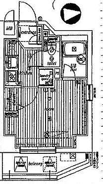 マンション(建物一部)-墨田区本所3丁目 間取り