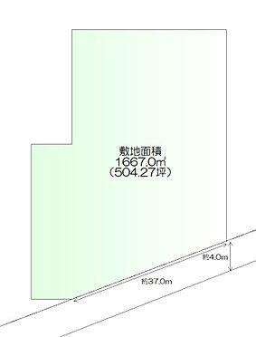土地-多賀城市笠神1丁目 区画図