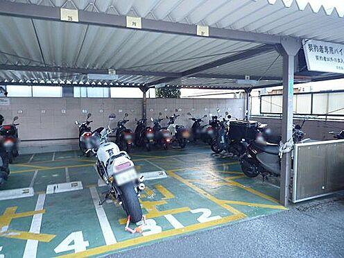 マンション(建物一部)-京都市右京区西院久保田町 屋根付きバイク置き場
