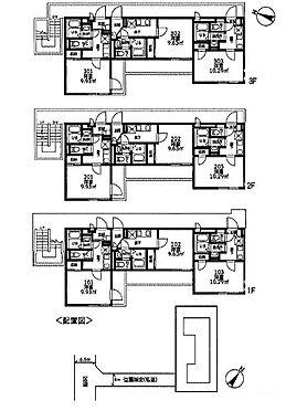 アパート-大田区下丸子4丁目 間取り