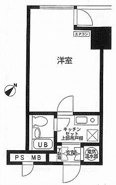 中古マンション-渋谷区道玄坂2丁目 間取り